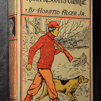 Several Horatio Alger Books w/ great covers! - Books