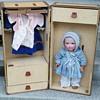 Rare 1940s Louis Vuitton Paris Store Exclusive Doll LV Trunk & LV Fasions