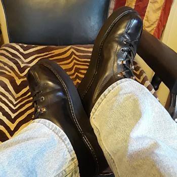 my vintage PARATROOPER BOOTS, kinda reborn?! :-) - Military and Wartime