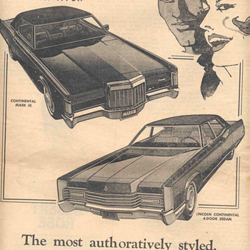 Old ad from newspaper  - Advertising