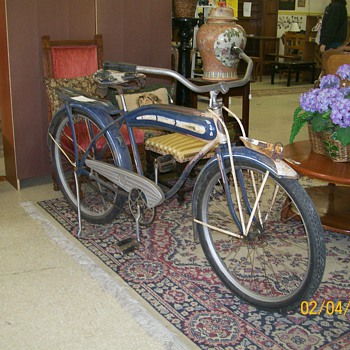 Richmond Harley Bike circa 30'/40's