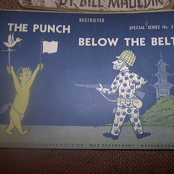 WWII BOOKLETS