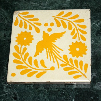 Mexican tile i like. - Pottery