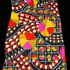 #53 ~ 1960s Psychedelic Acadia Deadstock Go Go Dress #54 Poster