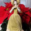 Felt & Porcelain Lady