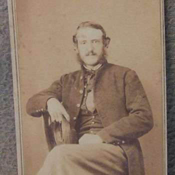 Civil War Marine cdv photograph - Photographs