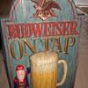 Clint's Vintage Bud Man Budweiser Sign