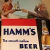 1940s Hamms Litho