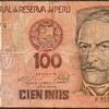 Peru - (100) Intis Bank Note