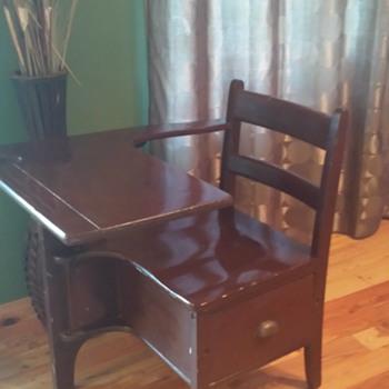 """Antique, Vintage, or """"Inspired""""? Child Desk"""