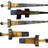 Wided bladed takouba sword