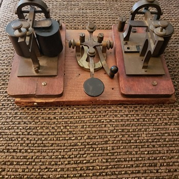 Telegraph Equipment? - Office