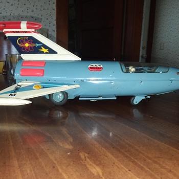1950s  (?) Tin space toys - Toys