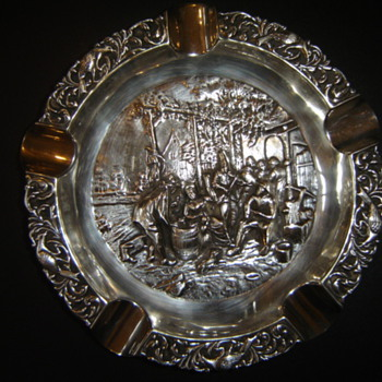 Sterling? Ashtray - Silver