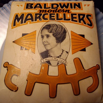 1936 marcellers hair curlers. - Accessories
