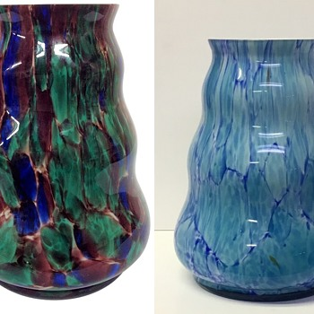 Czech glass? Mottled confetti  - Art Glass