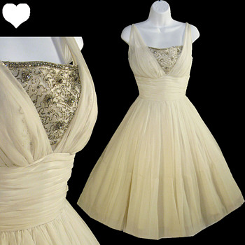 Vintage 1950s Wedding and Party Dresses