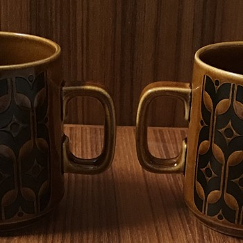 Hornsea Heirloom mugs. - Kitchen