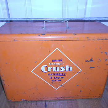Orange Crush Airline Cooler  - Advertising