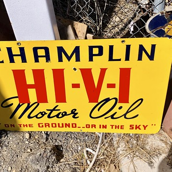 Champlin Oil Sign - Signs