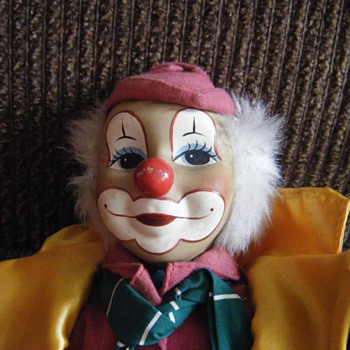 Clown 15 inches tall - Kinki-Bee Characters Limited  - Dolls