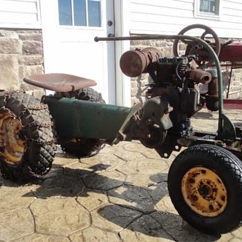 1952 Series 2 Baird Beaver Garden Tractor - Tractors