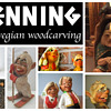 HENNING - Norwegian traditions and folklore carved by hand