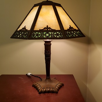 Another lamp in my collection - Arts and Crafts