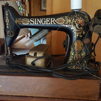 My godmother sewing machine