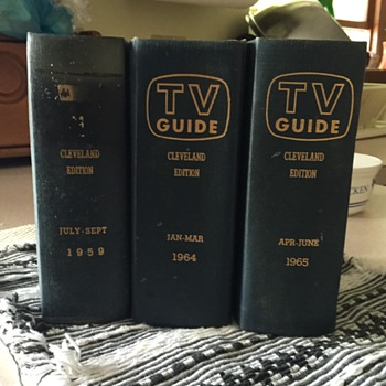 Rare hardcover TV Guide