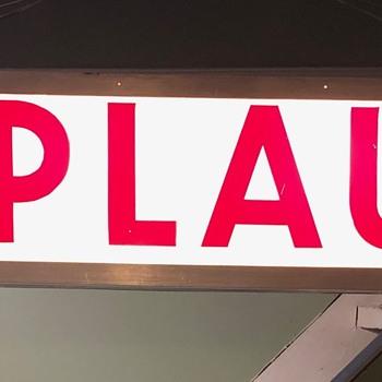 """Vintage """"APPLAUSE"""" T.V. Studio Sign - Signs"""
