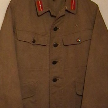 WW II Imperial Japanese Army Tunic - Military and Wartime