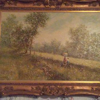 Like these paintings and would like any info some might have - Fine Art
