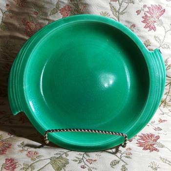 """11"""" serving platter """"Zephyr"""" pattern, Cronin China Co.  - Pottery"""