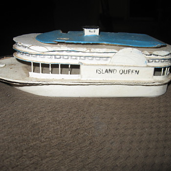 island queen toy wood boat - Toys