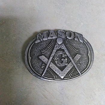 MASON BELT BUCKLE - Accessories