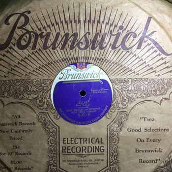 Wreckits for Brunswick  - Records