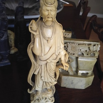 Ivory statue - Asian