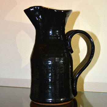 Pinched Mouth Pitcher - Pottery