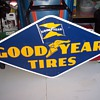 GoodYear Tires Sign 1952