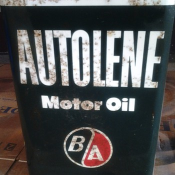 British-American Oil Co. 1gal  - Petroliana