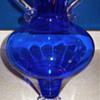 Large Cobalt Vase