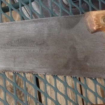 Disston #28 Toolbox hand saw - Tools and Hardware