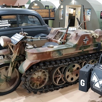 World War II German Vehicles 1:1 Scale Palm Springs Air Museum - Classic Cars