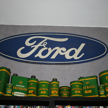 ford tin sign - Signs