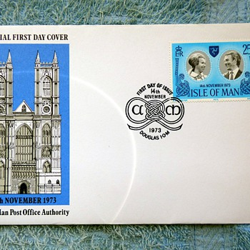 1973-1977-british first issue stamps-first day covers.