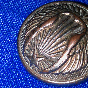 Civil War button - Military and Wartime