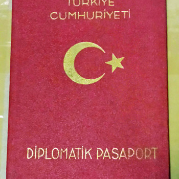Turkish Diplomatic passport