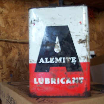 Alemite Lubricant Can