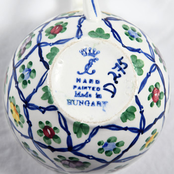 Hungarian Ceramic Dishware Mark Identification - Pottery